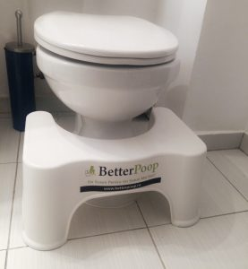 Scaunel BetterPoop Pozitie Ghemuita Toaleta