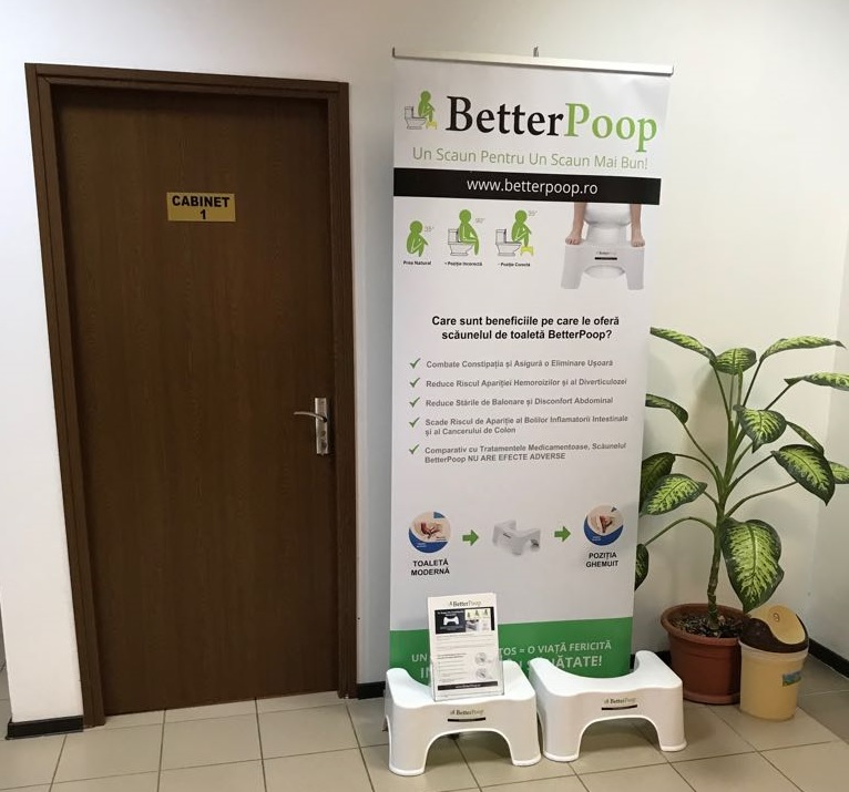 Clinica Proctoline Taburet Toaleta BetterPoop Site